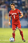 07 December 2012: Indiana's Harrison Petts. The Creighton University Bluejays played the Indiana University Hoosiers at Regions Park Stadium in Hoover, Alabama in a 2012 NCAA Division I Men's Soccer College Cup semifinal game. Indiana won the game 1-0.
