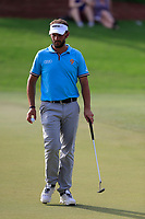 Joost Luiten (NED) on the 15th green during the 2nd round of the DP World Tour Championship, Jumeirah Golf Estates, Dubai, United Arab Emirates. 16/11/2018<br /> Picture: Golffile | Fran Caffrey<br /> <br /> <br /> All photo usage must carry mandatory copyright credit (© Golffile | Fran Caffrey)