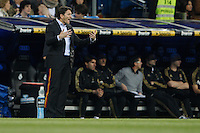 24.03.2012 SPAIN -  La Liga matchday 30th  match played between Real Madrid CF vs Real Sociedad (5-1) at Santiago Bernabeu stadium. The picture show Philippe Montanier coach of Real Sociedad