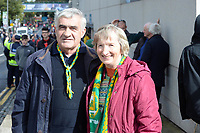 17-1-2017: Ulick and Peg Roche, Ballyfinnane at the All-Ireland Football final at Croke Park on Sunday.<br /> Photo: Don MacMonagle