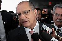 BRASÍLIA, DF 06 DE MARÇO 2013. GOVERNADOR DE SÃO PAULO GERALDO ALCKMIN NA COLETIVA DA REUNIÃO COM A PRESIDENTA DILMA.   Geraldo Alckmin governador do Estado de São Paulo participou da reunião de todos os governadores e prefeitos das capitais no Palácio do Planalto..FOTO RONALDO BRANDÃO/BRAZIL PHOTO PRESS
