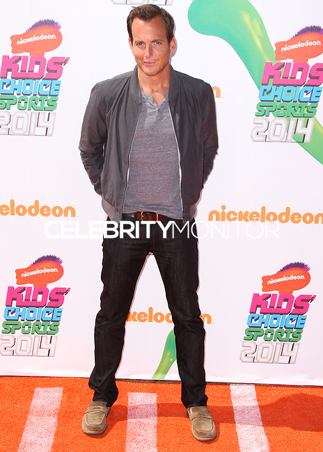 WESTWOOD, LOS ANGELES, CA, USA - JULY 17: Will Arnett at the Nickelodeon Kids' Choice Sports Awards 2014 held at UCLA's Pauley Pavilion on July 17, 2014 in Westwood, Los Angeles, California, United States. (Photo by Xavier Collin/Celebrity Monitor)
