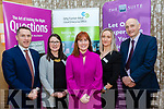 Attending the HR suite seminar held in the Pavillion, Ballygarry house hotel, Tralee last Wednesday morning, March 3, were L-R Conor Slattery&Marie Daly of Kerry Local Enterprise Office, Caroline McEnery&Jo Dwyer of Hr Suite with Tomás Haye, KLEO.