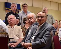 Progressive Conservative incumbent Bob Bailey, Andy Brandt, NDP Brian White