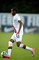 Manchester City's Abdisalam Ibrahim during a match at Merlo Field in Portland Oregon on July 17, 2010.