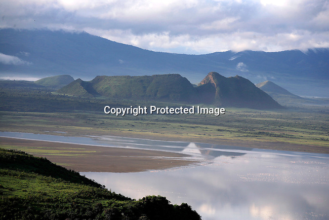 A view of Soysambu farm in Kenya from the Lake Elementeita . Photo; Per-Anders Pettersson/ Getty Images