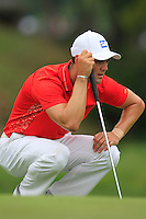 Martin Kaymer (GER) on the 8th green during Thursday's Round 1 of the 2014 PGA Championship held at the Valhalla Club, Louisville, Kentucky.: Picture Eoin Clarke, www.golffile.ie: 7th August 2014