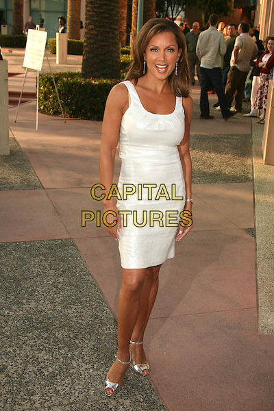 "VANESSA WILLIAMS .An Evening with ""Ugly Betty"", presented by the Academy of Television Arts and Sciences at the Leonard Goldenson Theater, North Hollywood, California, USA..April 30th, 2007.full length white dress sleeveless silver shoes shiny .CAP/ADM/BP.©Byron Purvis/AdMedia/Capital Pictures"