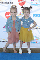 "LOS ANGELES - NOV 18:  Emma Stauffer, Mila Stauffer at the UCLA Childrens Hospital ""Party on the Pier"" at the Santa Monica Pier on November 18, 2018 in Santa Monica, CA"