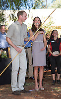 Kate, Duchess of Cambridge & Prince William visit the National Indigenous  Academy - Australia