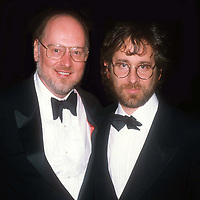 John Williams Steven Spielberg 1984<br /> Photo By John Barrett/PHOTOlink