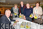 "Book Launch : Minister for the Arts, Heritage & the Gaeltach, Jimmy Deenihan, TD signing copies of his book ""My Sporting Life"" at the launch in The Arms Hotel on Saturday nigh last. L-R : Minister Jimmy Deenihan, Breda Lavery, Pat O'Connor, Deis O'Rourke &  Mary Sweeney."