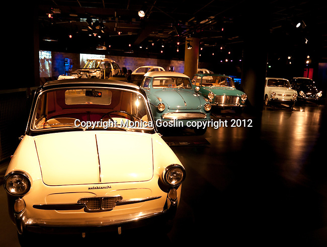 Car Museum in Turin, Italy with over 170 cards to view