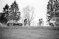 Jack Bobridge (AUS/Trek-Segafredo) &amp; Alberto Losada (ESP/Katusha) trying to get back into contingent<br /> <br /> 102nd Li&egrave;ge-Bastogne-Li&egrave;ge 2016
