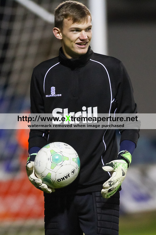 Picture by David Horn/eXtreme Aperture Photography +44 7545 970036<br /> 26/11/2013<br /> Football Conference Sponsors; Skrill, Surridge Bench Wear and Jako Balls during the Skrill Premier match between Luton Town and Southport FC at Kenilworth Road, Luton.