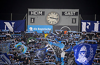 06.03.2018, Football Regionalliga Bayern 2017/2018, TSV 1860 Muenchen - TSV Buchbach, Gruenwalder-stadium Muenchen. Spielstand 1:1, die Anzeigetafel and den Ersatz-Tafeln.  *** Local Caption *** © pixathlon<br /> <br /> Contact: +49-40-22 63 02 60 , info@pixathlon.de