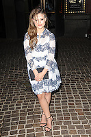 www.acepixs.com<br /> March 1, 2017  New York City<br /> <br /> Sarah Jeffery attending arrivals for 'Shades of Blue' second season premiere at the Roxy Cinema Tribeca on March 1, 2017 in New York City.<br /> <br /> Credit: Kristin Callahan/ACE Pictures<br /> <br /> <br /> Tel: 646 769 0430<br /> Email: info@acepixs.com