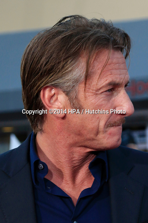 "LOS ANGELES - MAY 15:  Sean Penn at the ""A Million Ways To Die In The West"" World Premiere at Village Theater on May 15, 2014 in Westwood, CA"