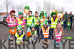 St. Patrick's Day Parade Milltown : Getting ready for the Parade front l-r Ryan Foley, Ben Levy, Cian Foley, Abbey Redman, back l-r Laura Chaw, Connie Feeley, Jack Evens, Jessie O'Reilly, Dylan Redman , Ellen Griffin