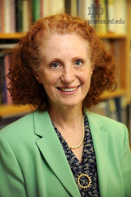 Prof. Maureen Bolton for the Alumni travel catalog