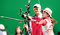 Kaori Kawanaka (JPN),<br /> AUGUST 9, 2016 - Archery :<br /> Women's Individual 1/32 Eliminations at Sambodromo during the Rio 2016 Olympic Games in Rio de Janeiro, Brazil. (Photo by Enrico Calderoni/AFLO SPORT)