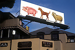 Pink Floyd billboard for record Animals on the Sunset Strip, 1977
