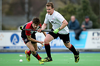 Canterbury Men's Hockey final match between <br /> Harewood and Carlton Redcliffs at Marist Park in Christchurch, New Zealand on Saturday 26 August 2017. Martin Hunter / lintottphoto.co.nz