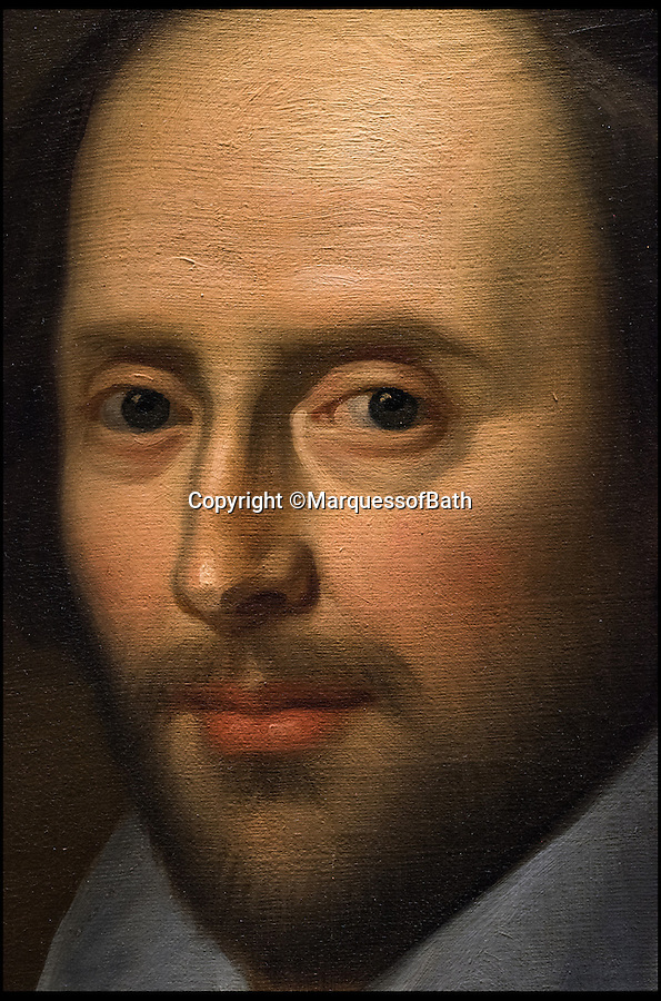 BNPS.co.uk (01202 558833)<br /> Pic: MarquessofBath/BNPS<br /> <br /> ***Single use only not for archives***<br /> <br /> A portrait of Shakespeare which is believed to be among the most accurate representations of the great playwright.<br /> <br /> The penciled sketch shows a group of actors in costume during a performance of the tragedy 'Titus Andronicus' held at The Rose theatre in 1594.<br /> <br /> It has been found at Longleat House in Wiltshire along with a rare copy of the most famous portrait of Shakespeare. Both items will form part of a new exhibition about Shakespeare at Longleat.