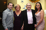 Paddy McConville with his family, Angela, Andrew and Jane at his 80th in The Star and Crescent...Photo NEWSFILE/Jenny Matthews.(Photo credit should read Jenny Matthews/NEWSFILE)....This Picture has been sent you under the condtions enclosed by:.Newsfile Ltd..The Studio,.Millmount Abbey,.Drogheda,.Co Meath..Ireland..Tel: +353(0)41-9871240.Fax: +353(0)41-9871260.GSM: +353(0)86-2500958.email: pictures@newsfile.ie.www.newsfile.ie.FTP: 193.120.102.198.