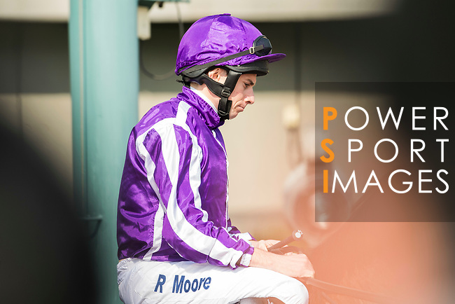 Jockey Ryan Moore riding Highland Reel competes in the Longines Hong Kong Vase (G1, 2400m) during the Longines Hong Kong International Races at Sha Tin Racecourse on December 10 2017, in Hong Kong, Hong Kong. Photo by Victor Fraile / Power Sport Images