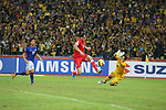 Malaysia vs Singapore during the AFF Suzuki Cup 2012 Group B match on November 25, 2012 at the Bukit Jalil National Stadium in Kuala Lumpur, Malaysia. Photo by World Sport Group