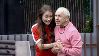 Jess Impiazzi, Wayne Sleep<br /> Celebrity Big Brother 2018 - Day 30<br /> *Editorial Use Only*<br /> CAP/KFS<br /> Image supplied by Capital Pictures