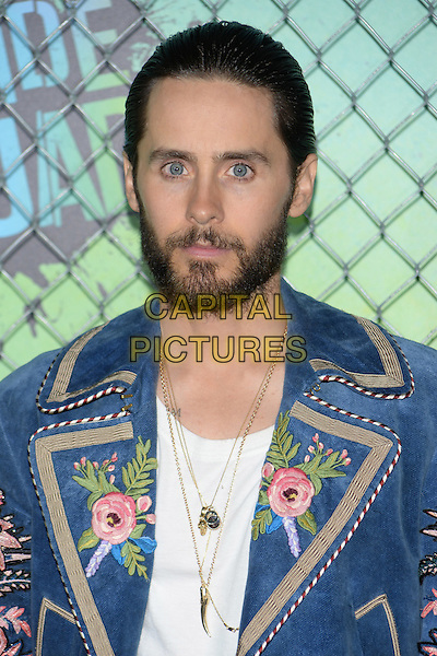 NEW YORK, NY - AUG 01: Jared Leto attends the World Premiere of &quot;Suicide Squad&quot; at the Beacon Theatre on August 1, 2016 in NEW YORK CITY.<br /> CAP/LNC/TOM<br /> &copy;TOM/LNC/Capital Pictures
