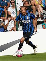 Rodrigo Palacio<br /> italian Prseason soccer match between FC inter e Carpi , at Stadium of Rischione di Brunico Italy July 15, 2015