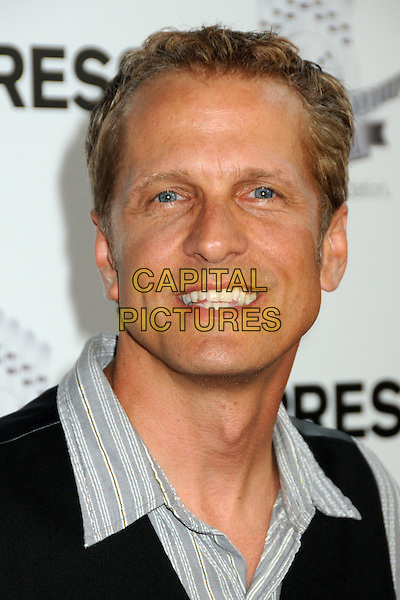 "PATRICK FABIAN.Matt Leinart's 4th Annual ""Bowling With The Stars"" Event held at Lucky Strike Lanes, Hollywood, California, USA..July 15th, 2010.headshot portrait black grey gray  .CAP/ADM/BP.©Byron Purvis/AdMedia/Capital Pictures."