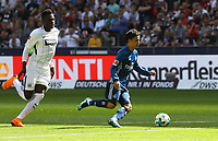 Tatsuya Ito (Hamburger SV) auf dem Weg zum 0:1, das nicht gegeben wird - 05.05.2018: Eintracht Frankfurt vs. Hamburger SV, Commerzbank Arena, 33. Spieltag Bundesliga