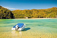 Torrent Bay on Abel Tasman Coastal Track - Abel Tasman National Park, Nelson Region, New Zealand