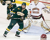 Josh Burrows (Vermont - 22) - The Boston College Eagles defeated the visiting University of Vermont Catamounts 6-0 on Sunday, November 28, 2010, at Conte Forum in Chestnut Hill, Massachusetts.