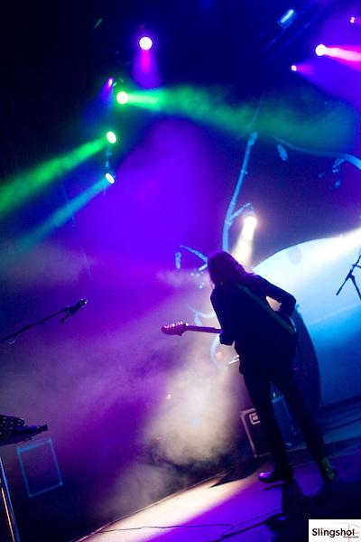 Imagine Dragons performs in concert at Comerica Theatre in Phoenix, Arizona on 6/3/13