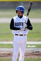 April 5, 2009:  Brian Randazzo (2) of the University of Buffalo Bulls during a game at Amherst Audubon Field in Buffalo, NY.  Photo by:  Mike Janes/Four Seam Images