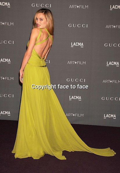 Natalie Gal arrives at LACMA Art + Film Gala at LACMA Art + Film Gala, Los Angeles, California, 27.10.2012...Credit: Mayer/face to face..- No Rights for USA and Canada -
