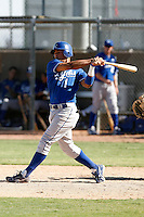 Yowill Espinal - Kansas City Royals 2009 Instructional League. .Photo by:  Bill Mitchell/Four Seam Images..