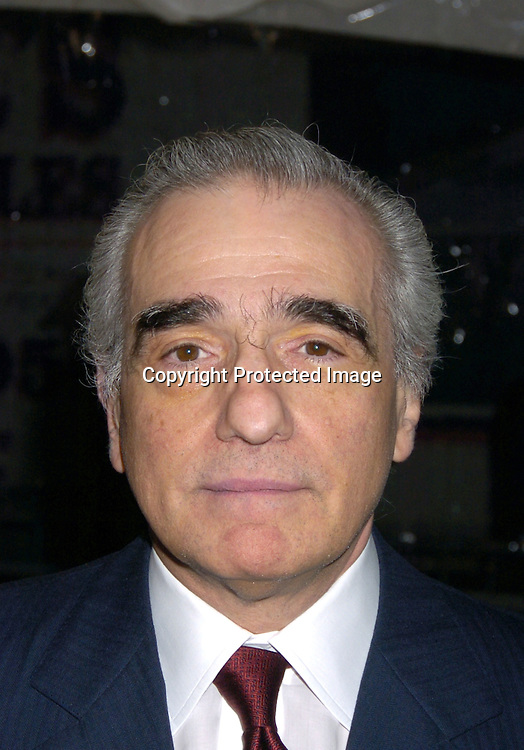 "Martin Scorsese ..at The New York Premiere of ""The Aviator"" on December 14, 2004 at The Ziegfeld Theatre. ..Photo by Robin Platzer, Twin Images"