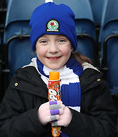 Blackburn Rovers Fans at the start of todays match<br /> <br /> Photographer Rachel Holborn/CameraSport<br /> <br /> The EFL Sky Bet League One - Blackburn Rovers v Blackpool - Saturday 10th March 2018 - Ewood Park - Blackburn<br /> <br /> World Copyright &copy; 2018 CameraSport. All rights reserved. 43 Linden Ave. Countesthorpe. Leicester. England. LE8 5PG - Tel: +44 (0) 116 277 4147 - admin@camerasport.com - www.camerasport.com