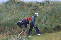 Padraig Harrington (IRL) on the 7th during Round 2 of the Irish Open at LaHinch Golf Club, LaHinch, Co. Clare on Friday 5th July 2019.<br /> Picture:  Thos Caffrey / Golffile<br /> <br /> All photos usage must carry mandatory copyright credit (© Golffile | Thos Caffrey)
