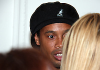 Ronaldinho of AC Milan at a reception for AC Milan at DAR Constitution Hall in Washington DC on May 24 2010.