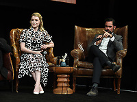 """HOLLYWOOD - MAY 29: Sarah Bolger, and Danny Pino attend the FYC event for FX's """"Mayans M.C."""" at Neuehouse Hollywood on May 29, 2019 in Hollywood, California. (Photo by Frank Micelotta/FX/PictureGroup)"""