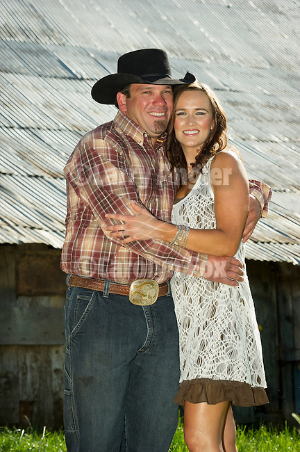 Gabrielle Noble & Clinton Brownlie engagement photography at the Cuneo Ranch, Clinton, Calif.