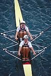 US Women's double sculls, Cologne, Germany, 1998 FISA World Rowing Championships, Bow: Carol Skricki, Stroke: Laurel Korholz,