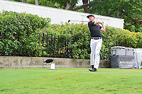 Jonas Blixt (SWE) watches his tee shot on 15 during round 4 of the Dean &amp; Deluca Invitational, at The Colonial, Ft. Worth, Texas, USA. 5/28/2017.<br /> Picture: Golffile | Ken Murray<br /> <br /> <br /> All photo usage must carry mandatory copyright credit (&copy; Golffile | Ken Murray)